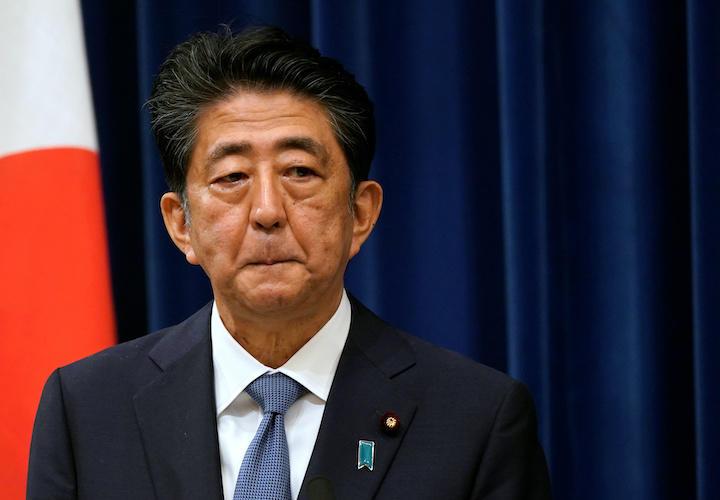 安倍晋三首相が体調悪化で辞任へに関する画像